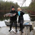 Rekord fisken på 8,2 kg fångad av en gäst från Ukraina
