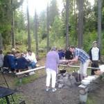Utomhus matlagning